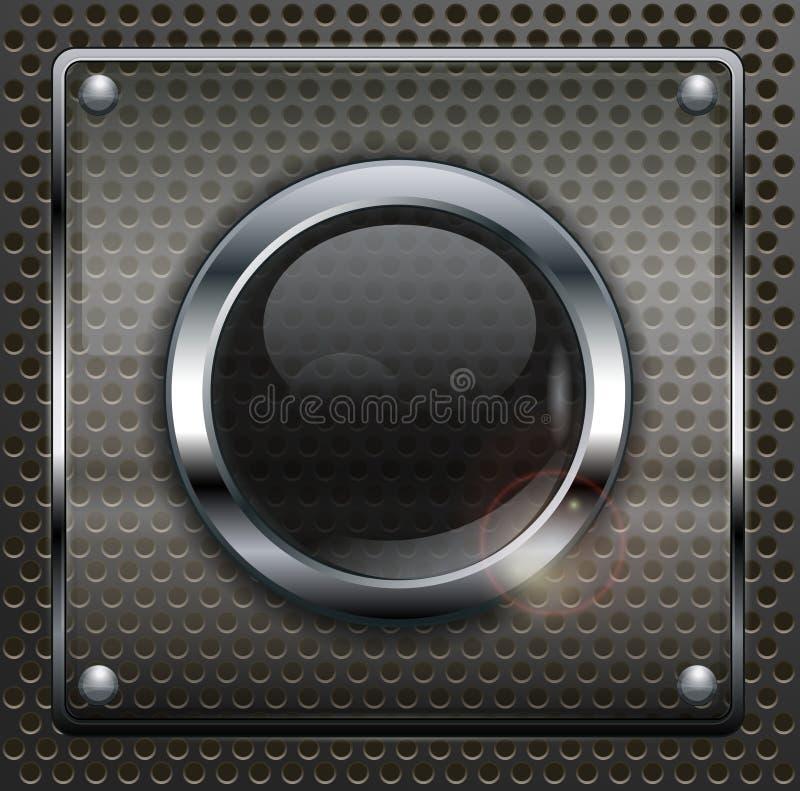 Στρογγυλά κουμπιά Ιστού ελεύθερη απεικόνιση δικαιώματος