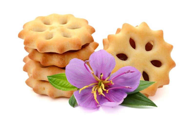 Στρογγυλά μπισκότα στοκ φωτογραφίες