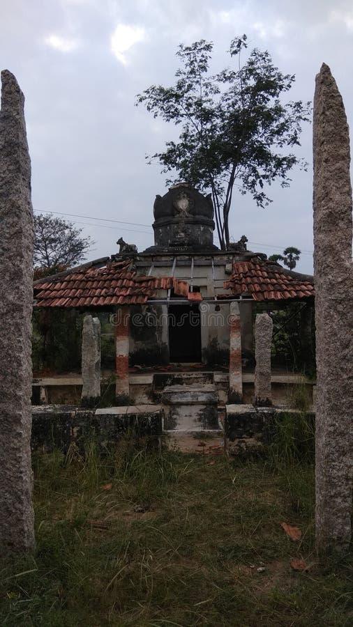Στρογγυλές καταστροφές ναών Sarmisegetuza Regia στοκ εικόνες