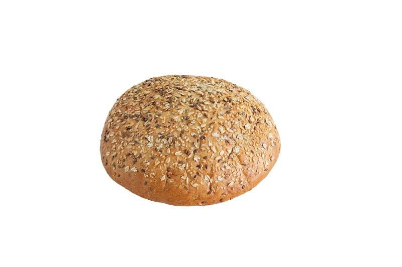 Στρογγυλή φραντζόλα του ψωμιού με τους σπόρους στοκ φωτογραφία με δικαίωμα ελεύθερης χρήσης