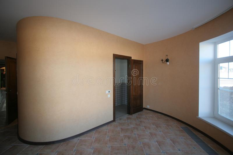 Στρογγυλευμένος διάδρομος στοκ φωτογραφία με δικαίωμα ελεύθερης χρήσης