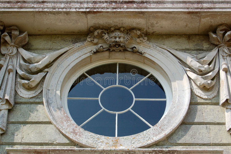 στρογγυλό παράθυρο στοκ φωτογραφίες