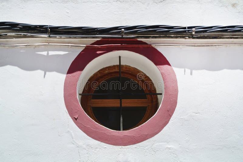 στρογγυλό παράθυρο στοκ εικόνες