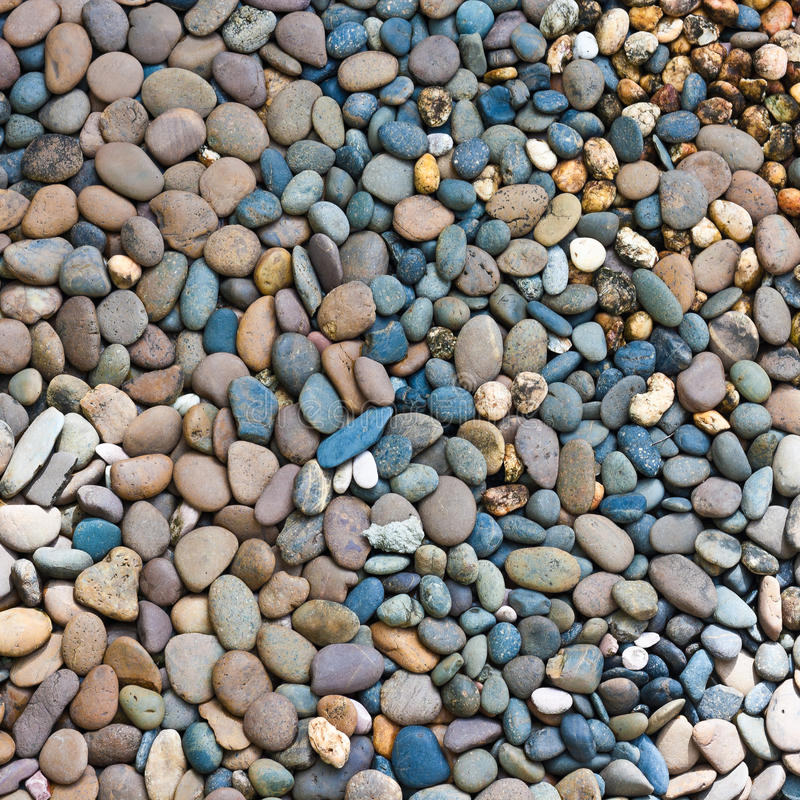 Στρογγυλό peeble υπόβαθρο πετρών στοκ εικόνα