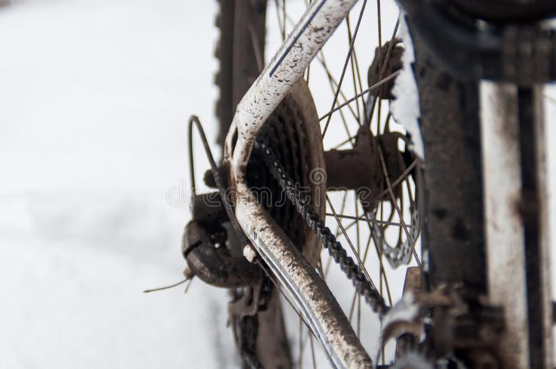 Στροφέας οδικών ποδηλάτων στοκ εικόνα