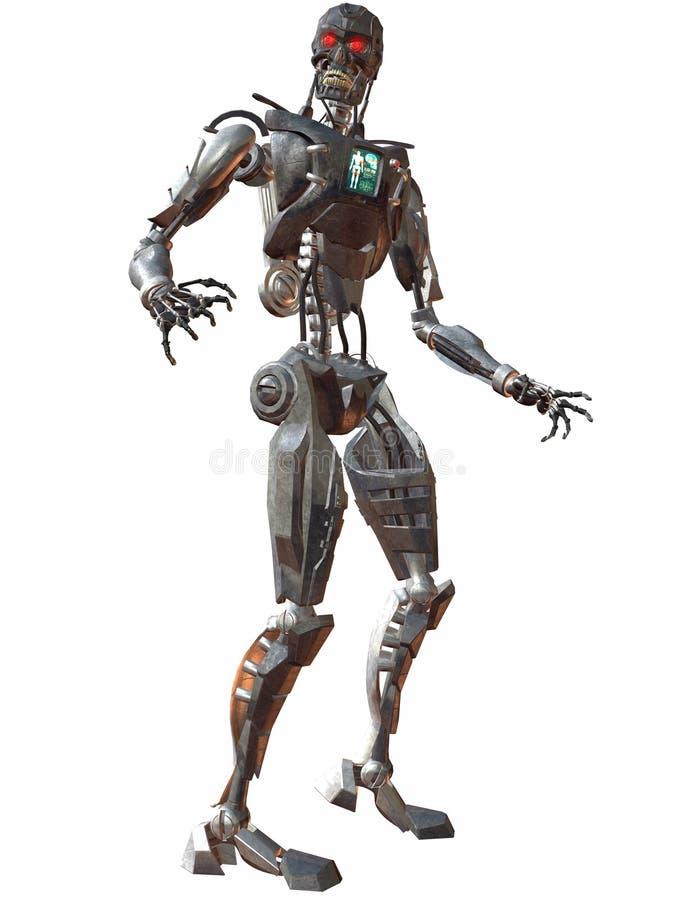 στροφή 3000 cyborg ελεύθερη απεικόνιση δικαιώματος