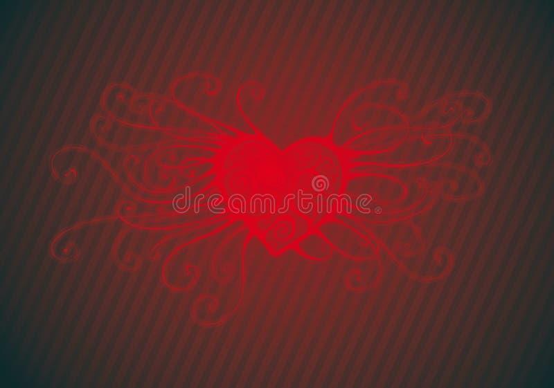 στρόβιλος καρδιών ελεύθερη απεικόνιση δικαιώματος