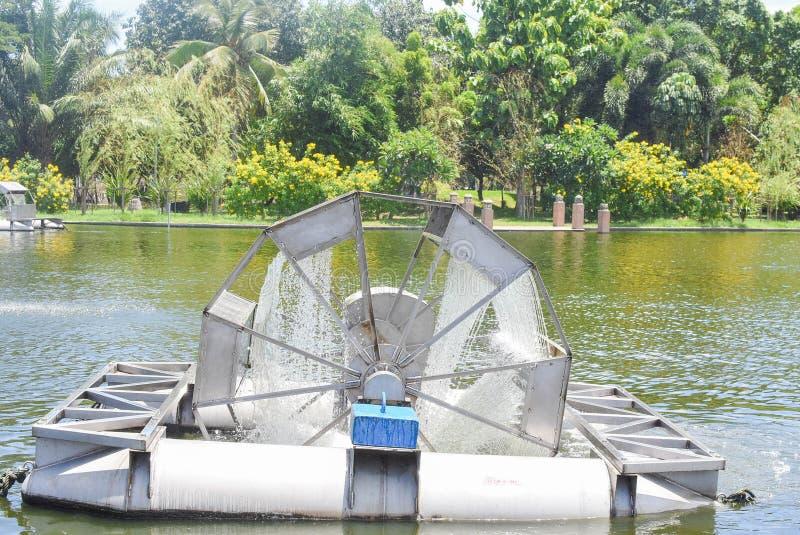 Στρόβιλος νερού στη λίμνη στοκ φωτογραφία με δικαίωμα ελεύθερης χρήσης