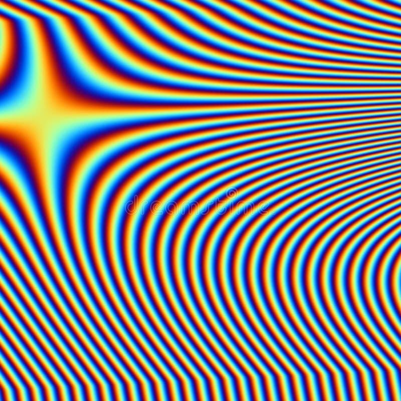 στρόβιλος ουράνιων τόξων απεικόνιση αποθεμάτων