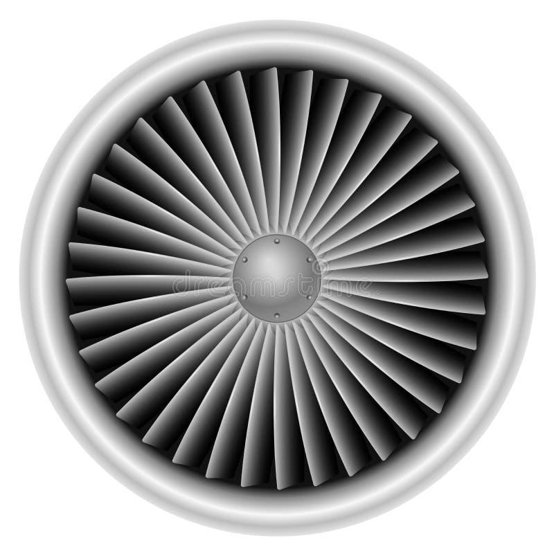 Στρόβιλος αεροπλάνων διανυσματική απεικόνιση