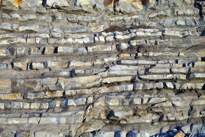 Στρώματα βράχου στοκ εικόνα με δικαίωμα ελεύθερης χρήσης