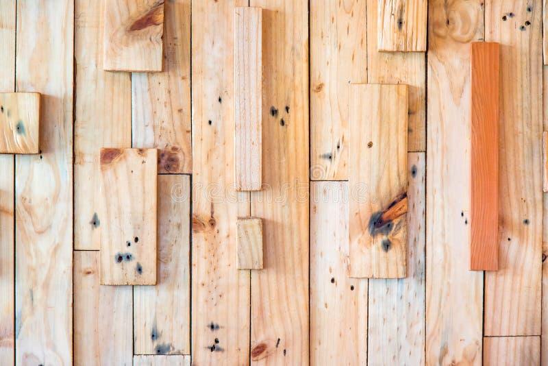 Στρώματα του ξύλινου υποβάθρου τοίχων σανίδων στοκ εικόνες