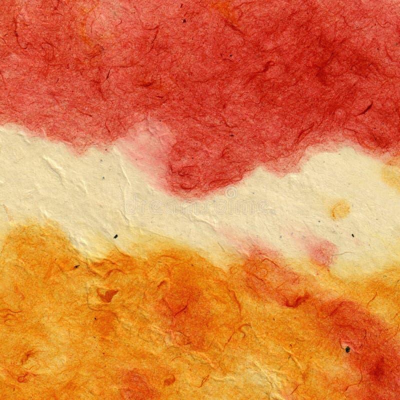 Στρώμα χρωμάτων στο έγγραφο στοκ εικόνες με δικαίωμα ελεύθερης χρήσης