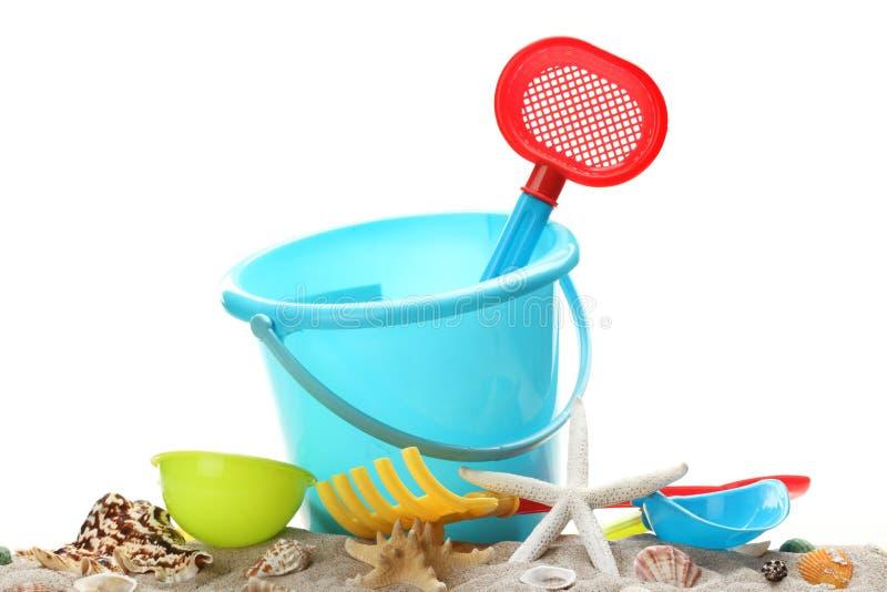 στρώστε με άμμο τα παιχνίδι&alp στοκ φωτογραφία με δικαίωμα ελεύθερης χρήσης