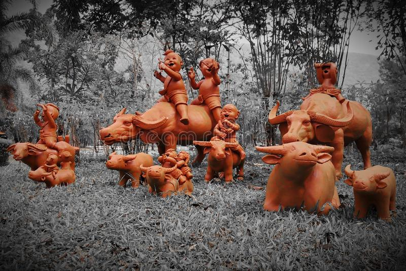 Στόκος που αντιπροσωπεύει το παιχνίδι των αρχαίων παιδιών στοκ φωτογραφίες με δικαίωμα ελεύθερης χρήσης