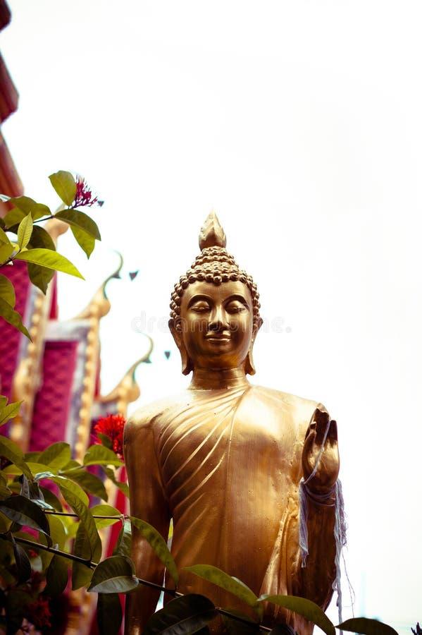 Στόκος του αγάλματος του Βούδα στοκ εικόνα
