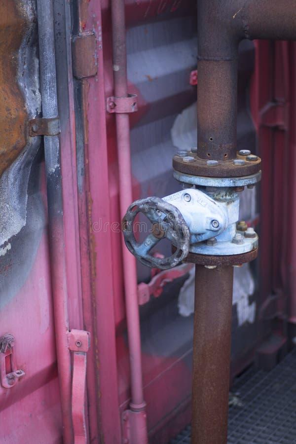 Στόμιο υδροληψίας κατάρτισης πυροσβεστικών σταθμών στοκ φωτογραφία