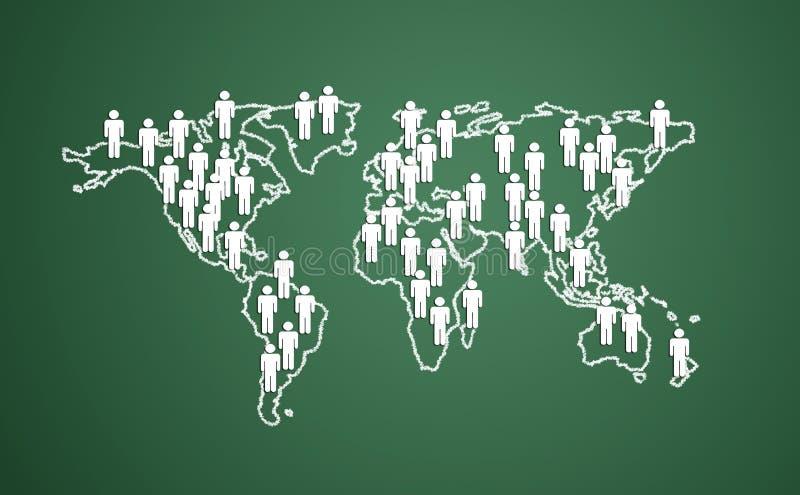 στόχοι επιχειρησιακών επαφών ελεύθερη απεικόνιση δικαιώματος