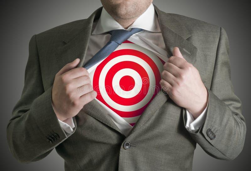 στόχος επιχειρηματιών στοκ φωτογραφία με δικαίωμα ελεύθερης χρήσης