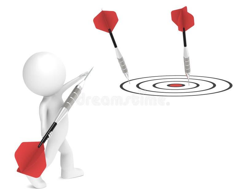 στόχος μάρκετινγκ απεικόνιση αποθεμάτων
