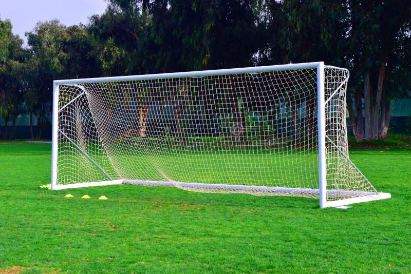 Στόχος ποδοσφαίρου στοκ φωτογραφία