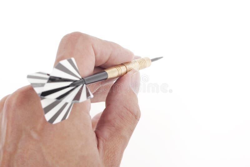 Download στόχος χεριών βελών που ρίχ Στοκ Εικόνα - εικόνα από dartboard, χρυσός: 17057981