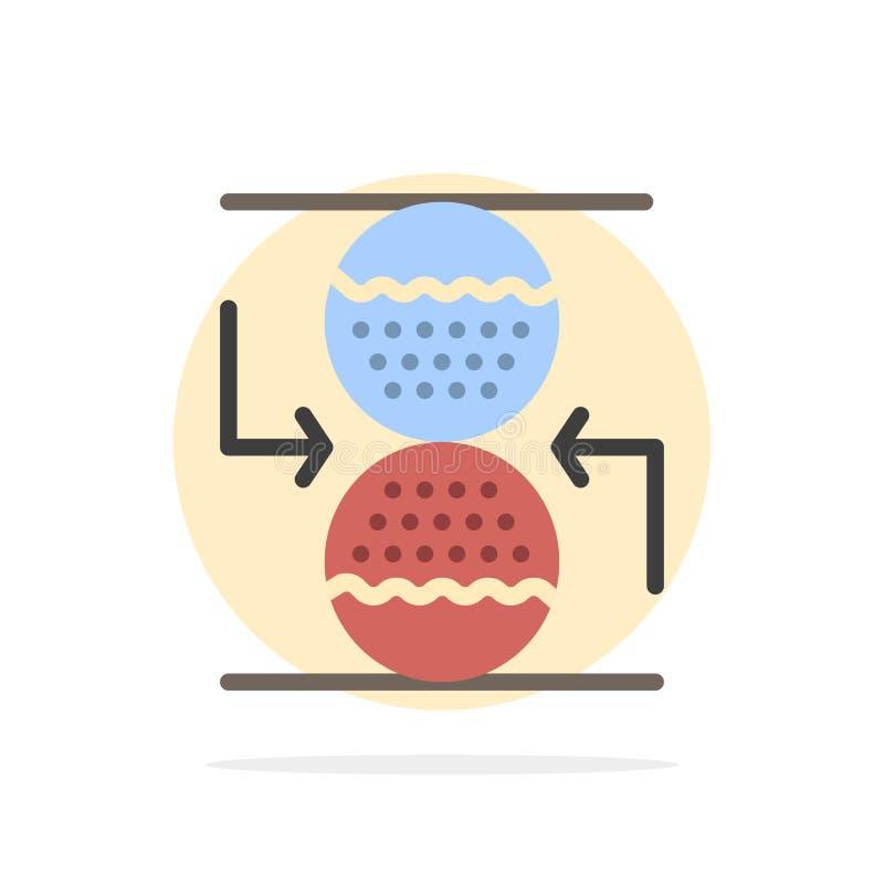 Συγκέντρωση, έλεγχος, αποτελεσματικός, άμμου ρολογιών αφηρημένο κύκλων εικονίδιο χρώματος υποβάθρου επίπεδο ελεύθερη απεικόνιση δικαιώματος
