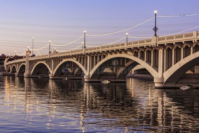 Συγκεκριμένη γέφυρα στοκ φωτογραφία με δικαίωμα ελεύθερης χρήσης