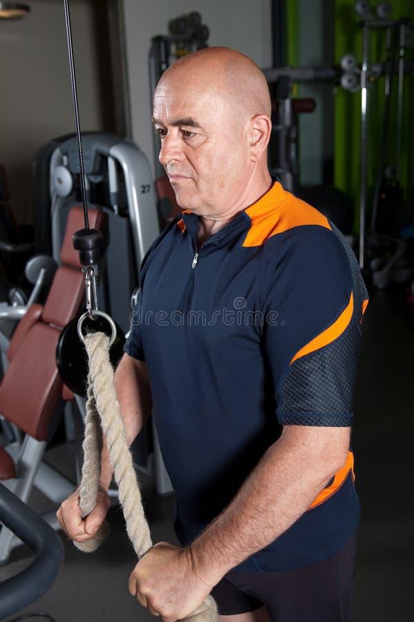 Download συγκεντρωμένος πρεσβύτ&epsil Στοκ Εικόνα - εικόνα από δύναμη, workout: 13188219