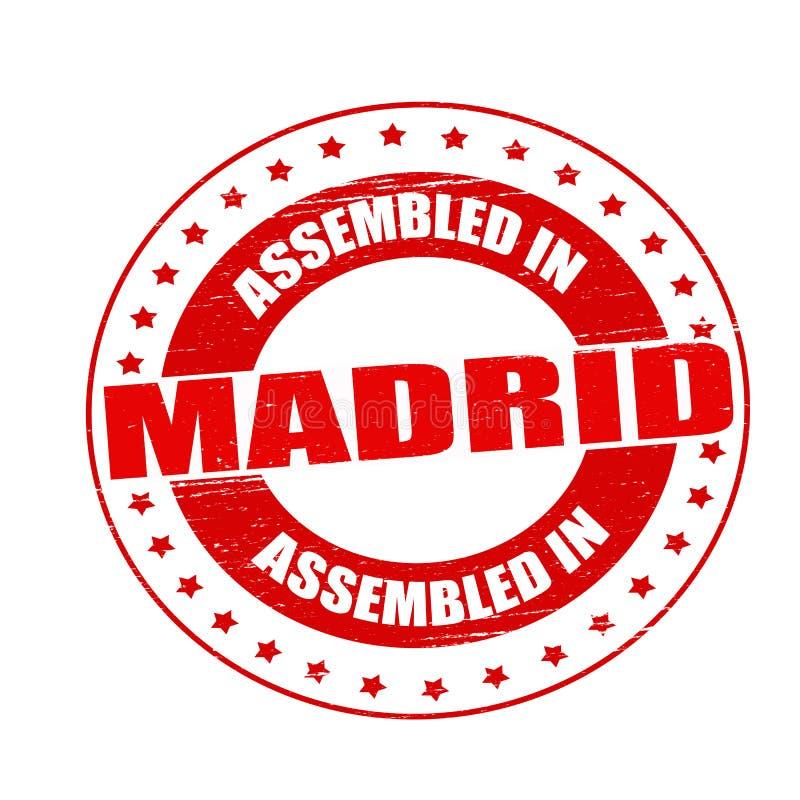Συγκεντρωμένος στη Μαδρίτη απεικόνιση αποθεμάτων
