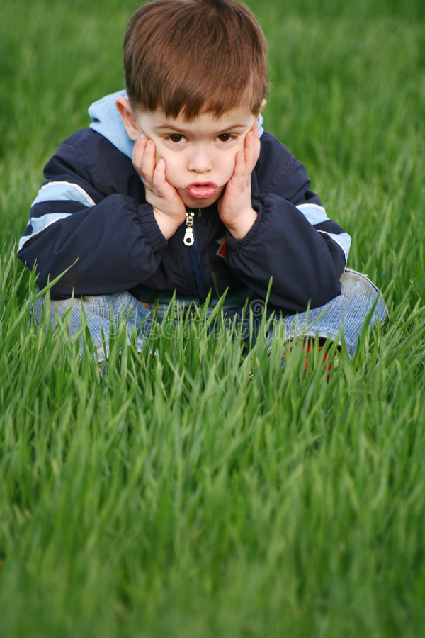 συγκινήσεις παιδιών στοκ φωτογραφία με δικαίωμα ελεύθερης χρήσης