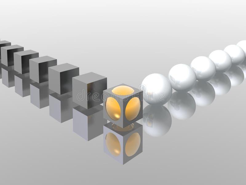 συγχώνευση απεικόνιση αποθεμάτων