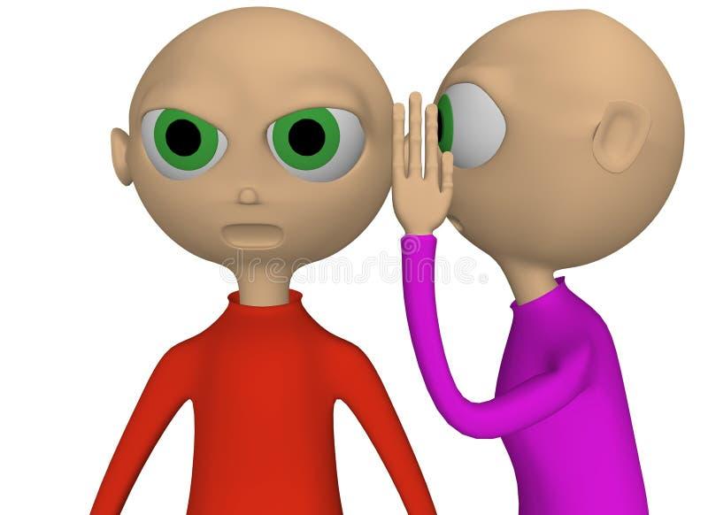 συζήτηση αυτιών διανυσματική απεικόνιση