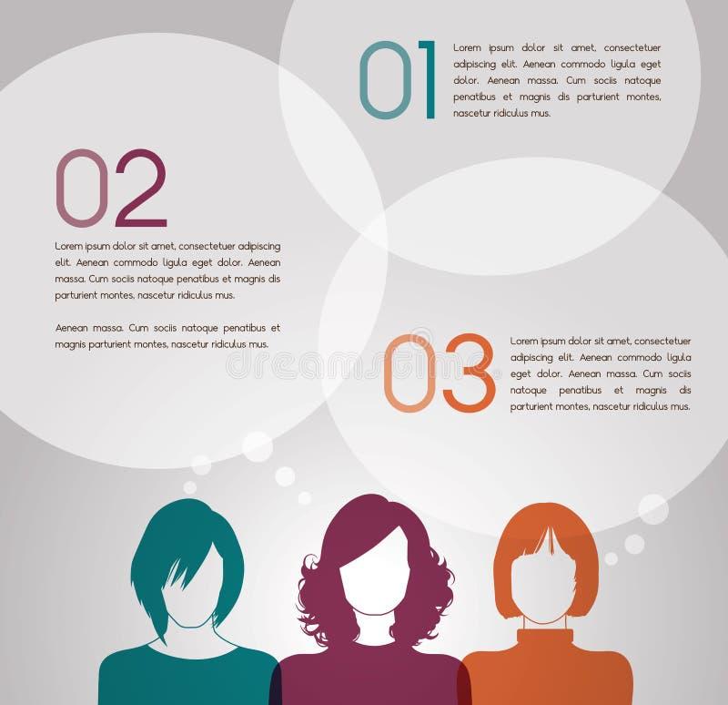 συζήτηση γυναικών ελεύθερη απεικόνιση δικαιώματος