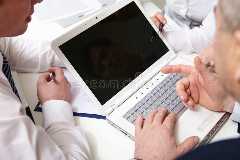 Συζήτηση προγράμματος στοκ φωτογραφία με δικαίωμα ελεύθερης χρήσης