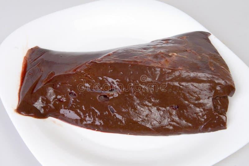 συκώτι βόειου κρέατος στοκ φωτογραφίες με δικαίωμα ελεύθερης χρήσης