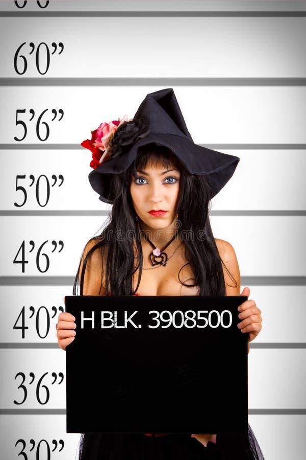 συλλήφθείη μάγισσα στοκ εικόνα με δικαίωμα ελεύθερης χρήσης
