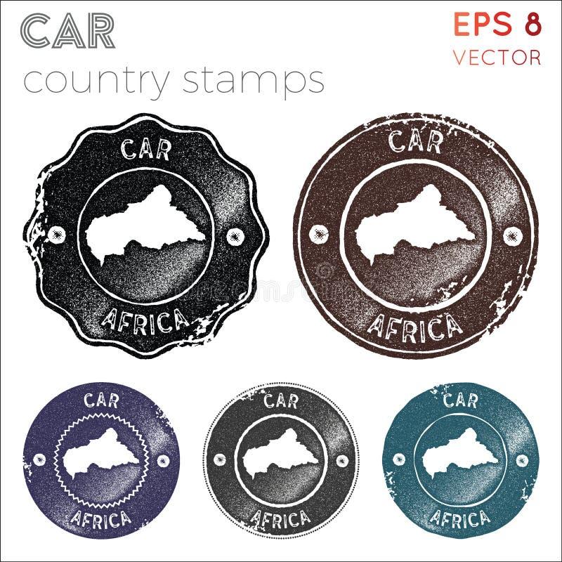 Συλλογή γραμματοσήμων ΑΥΤΟΚΙΝΗΤΩΝ απεικόνιση αποθεμάτων