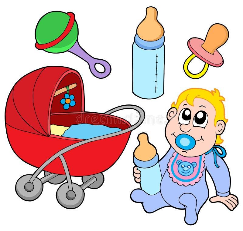 συλλογή μωρών απεικόνιση αποθεμάτων