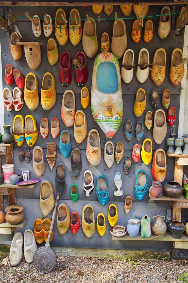 Συλλογή ολλανδικά Clogs στοκ φωτογραφία