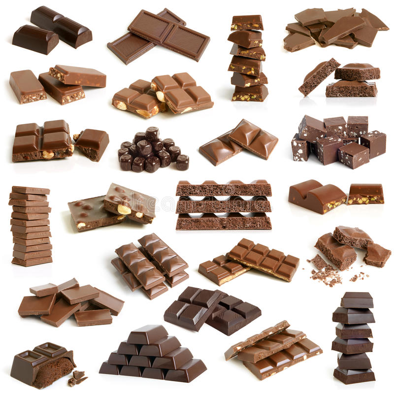 Συλλογή σοκολάτας στοκ εικόνες