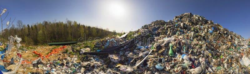 Συλλογή του μεθανίου στα απορρίμματα στοκ φωτογραφίες
