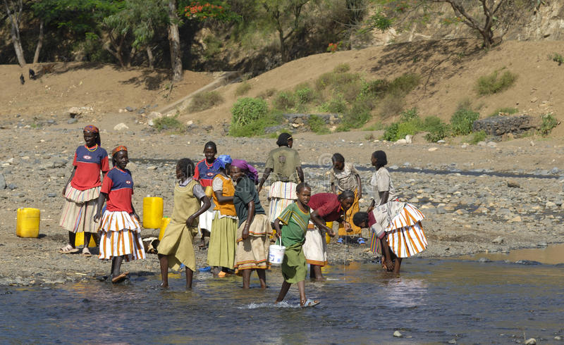 συλλογή του ύδατος στοκ φωτογραφία με δικαίωμα ελεύθερης χρήσης