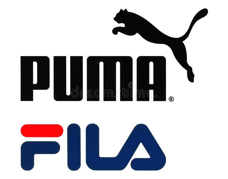 Συλλογή των δημοφιλών sportswear λογότυπων κατασκευών ελεύθερη απεικόνιση δικαιώματος