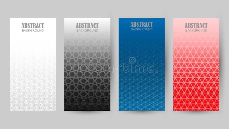Συλλογή των διαφορετικών σχεδίων χρώματος στο υπόβαθρο απεικόνιση αποθεμάτων