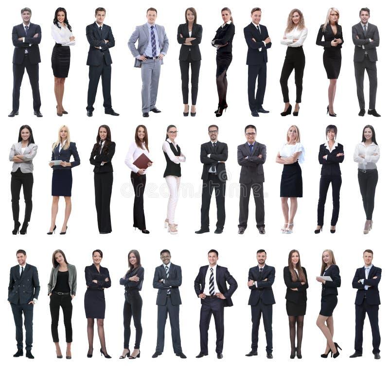 Συλλογή των πλήρων ανθρώπων μήκους στοκ εικόνα