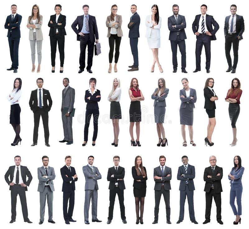 Συλλογή των πλήρων ανθρώπων μήκους στοκ φωτογραφία