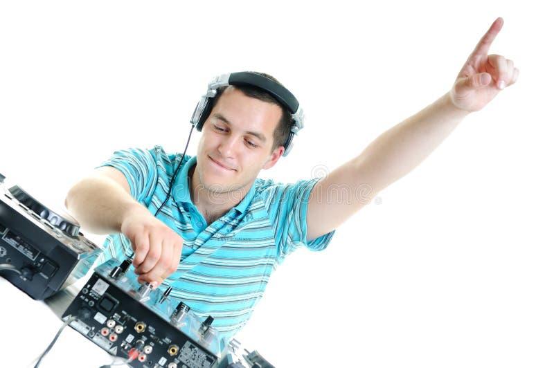 Συμβαλλόμενο μέρος του DJ στοκ φωτογραφία