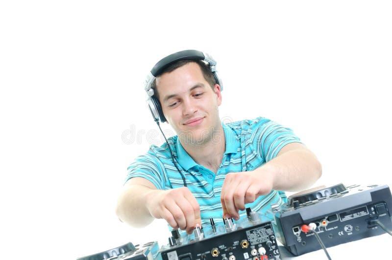 Συμβαλλόμενο μέρος του DJ στοκ εικόνες με δικαίωμα ελεύθερης χρήσης