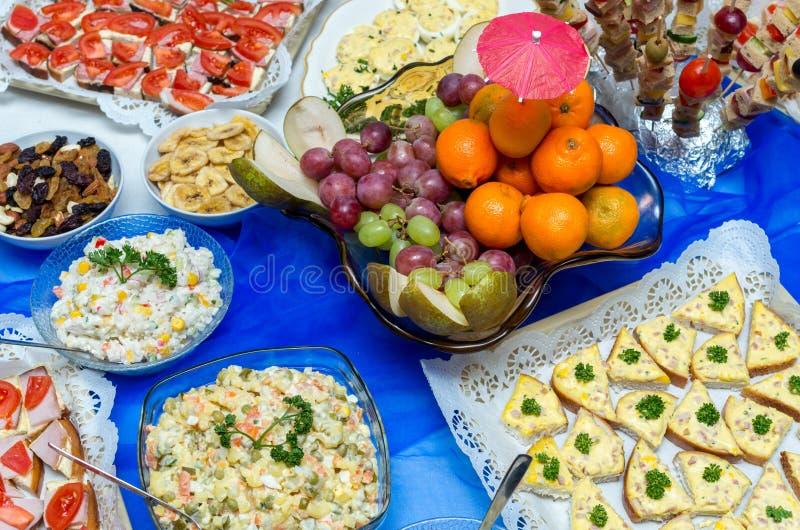 συμβαλλόμενο μέρος της Λιθουανίας τροφίμων τομέα εστιάσεως στοκ εικόνα